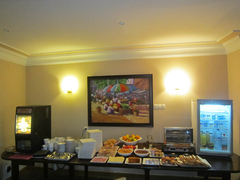 hotel en laredo desayuno-posada